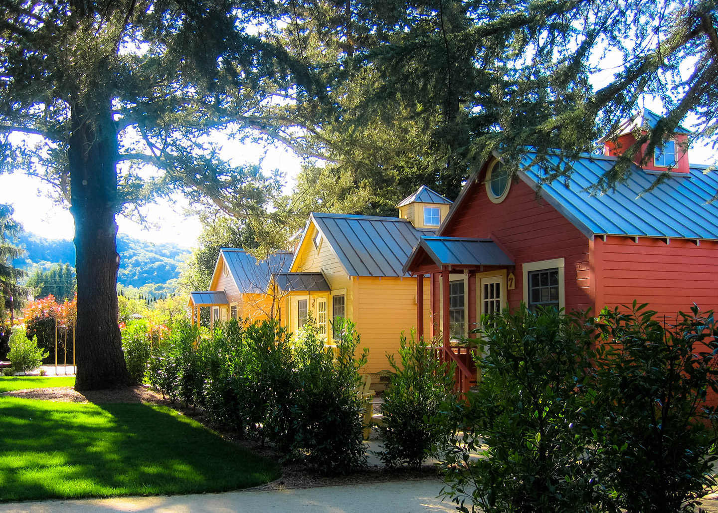 The Cottages Of Napa Valley Winery Explorers