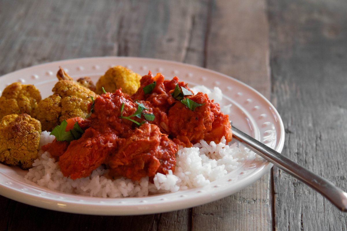 Tomato-Yogurt Chicken Curry