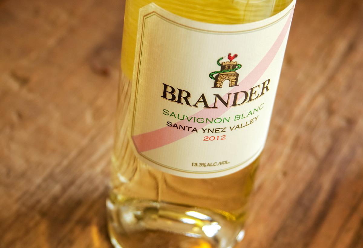 2012 Brander Santa Ynez Valley Sauvignon Blanc
