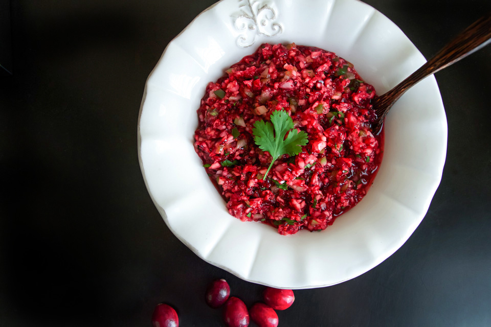 Cranberry Salsa with Lime