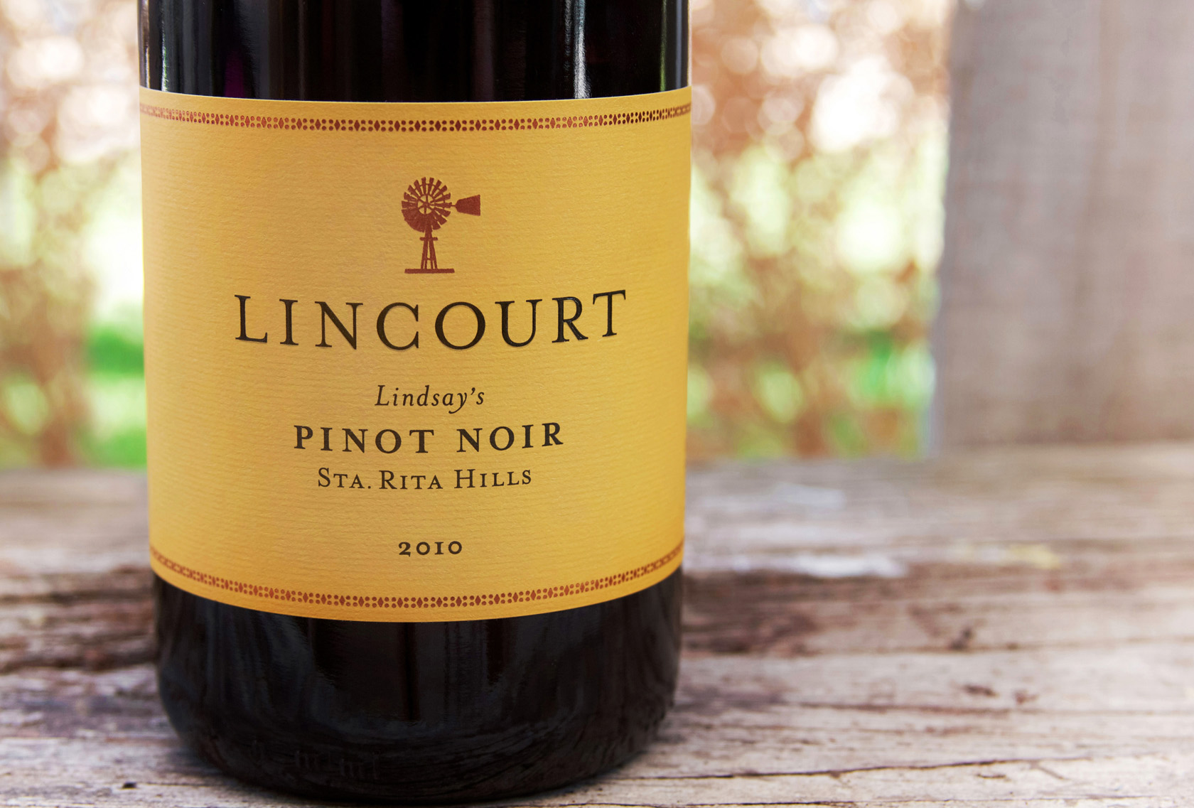 2010 Lincourt Lindsay's Pinot Noir
