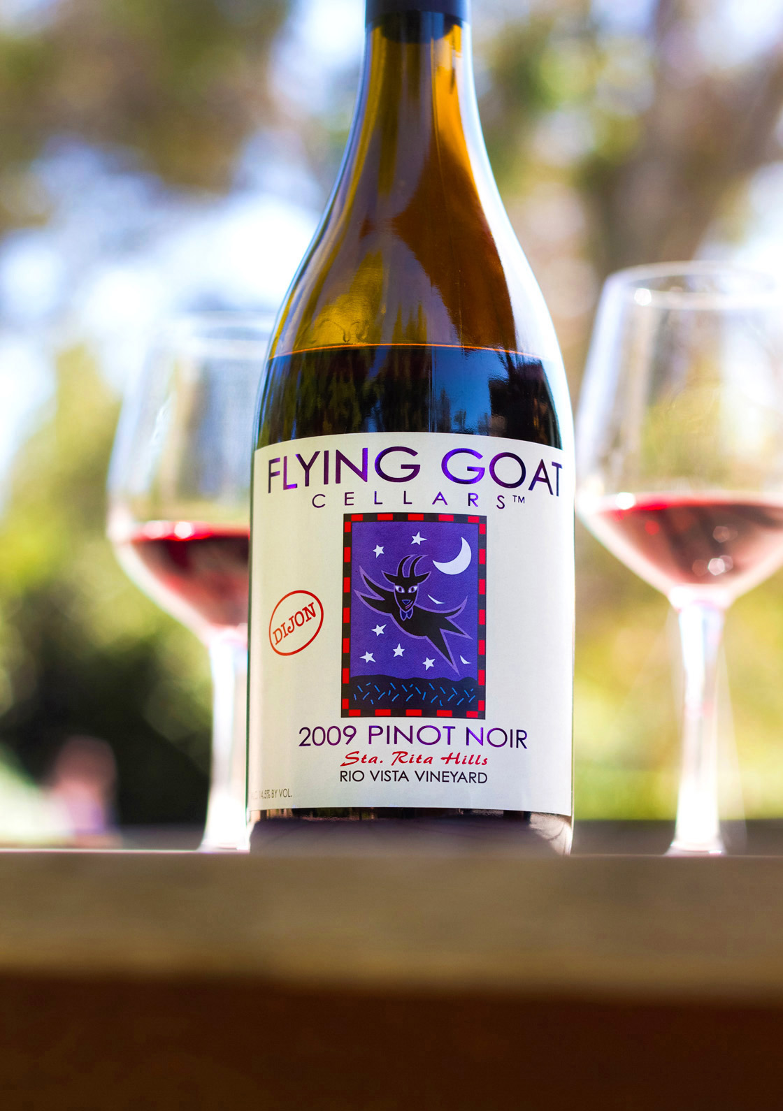 2009 Flying Goat Cellars Pinot Noir Rio Vista Vineyard Dijon